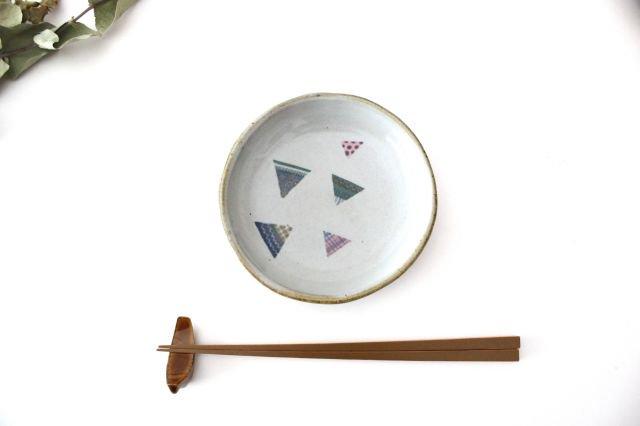 【一点もの】 三角 小皿 【B】 陶器 相澤かなえ 画像4