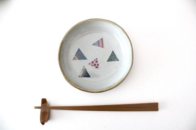 【一点もの】 三角 小皿 【C】 陶器 相澤かなえ 画像4
