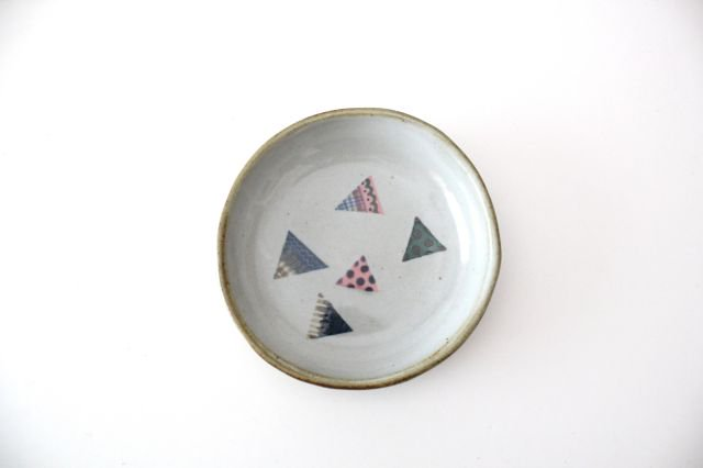 【一点もの】 三角 小皿 【C】 陶器 相澤かなえ 画像6