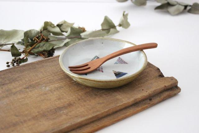 【一点もの】 三角 小皿 【D】 陶器 相澤かなえ 画像5