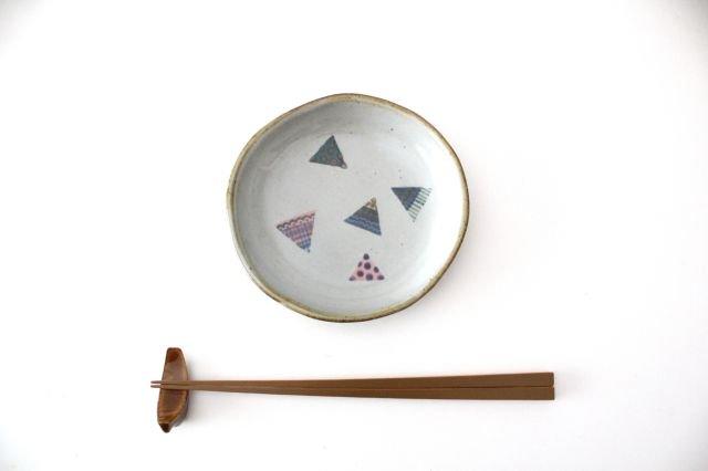 【一点もの】 三角 小皿 【E】 陶器 相澤かなえ 画像2