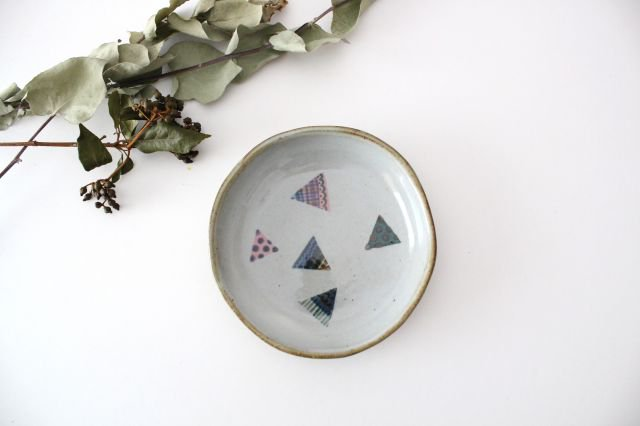 【一点もの】 三角 小皿 【E】 陶器 相澤かなえ 画像6