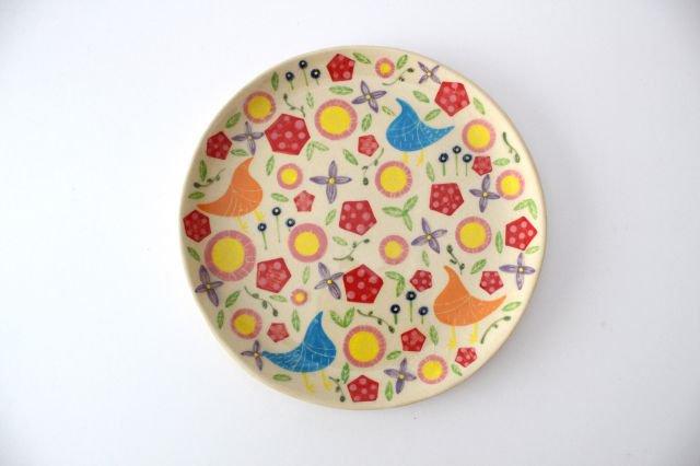 【一点もの】色絵付け大皿 【H】 陶器 工房双子堂 やちむん