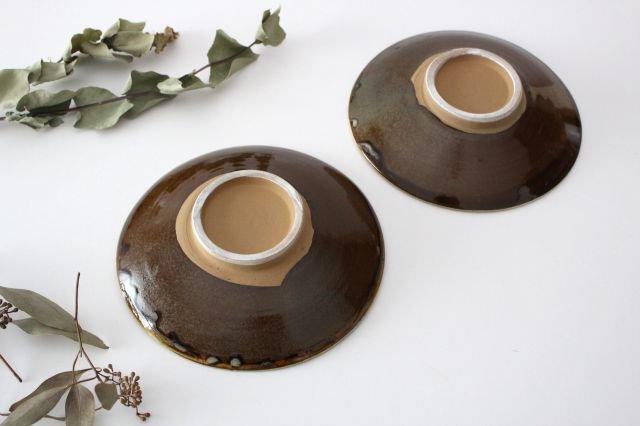6寸皿 トビカンナ 陶器 小鹿田焼  画像5