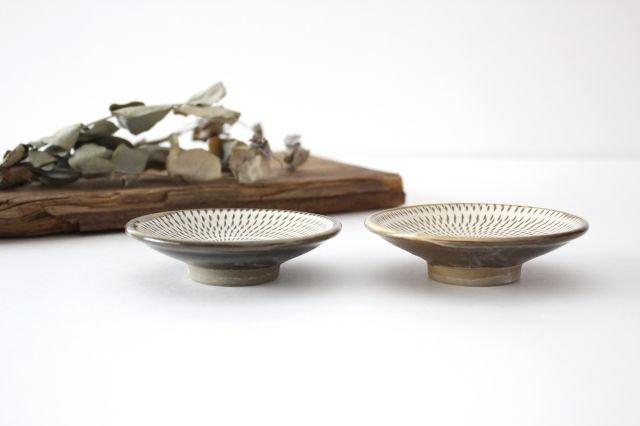 3寸皿 トビカンナ 【A】 陶器 小鹿田焼  画像5