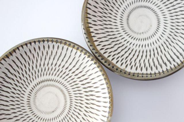 3寸皿 トビカンナ 【A】 陶器 小鹿田焼  画像6