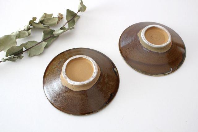 5寸皿 トビカンナ 【C】 陶器 小鹿田焼  画像6