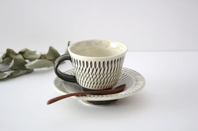 トビカンナ カップ&ソーサー 陶器 小鹿田焼