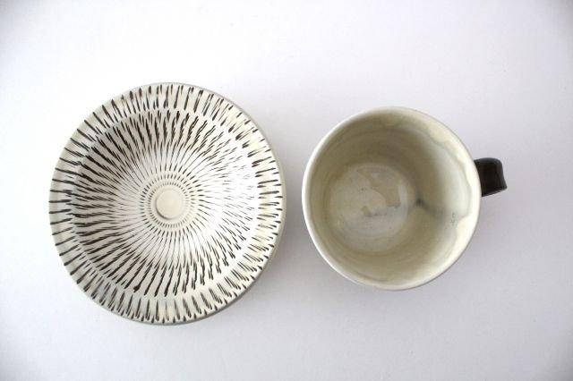 トビカンナ カップ&ソーサー 陶器 小鹿田焼 画像2