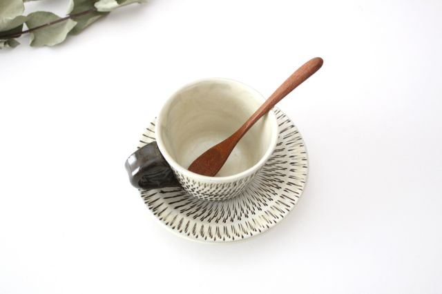 トビカンナ カップ&ソーサー 陶器 小鹿田焼 画像6