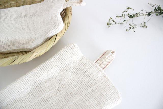 手紡ぎ綿食器洗い 中川政七商店 画像3