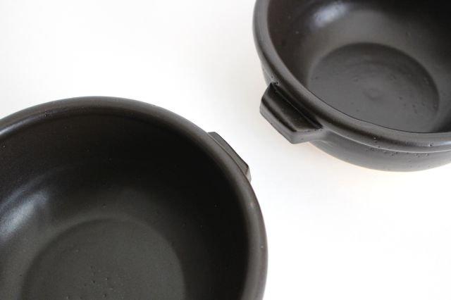 《耐熱陶器》伊賀焼のスープボウル 黒 中川政七商店 画像6