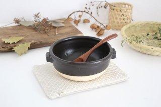 《耐熱陶器》 伊賀焼のスープボウル 黒 中川政七商店商品画像