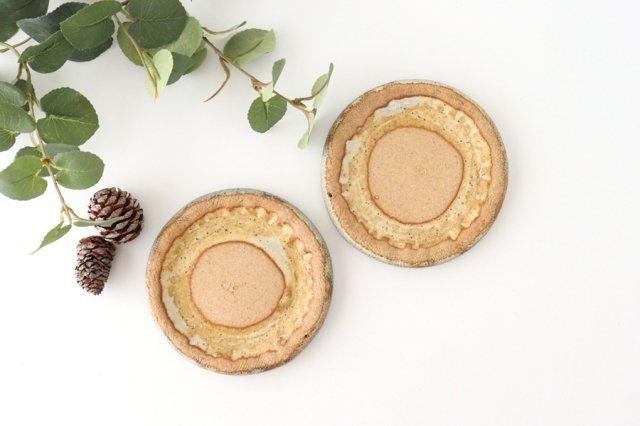 ざぶとん丸小皿 陶器 宮崎和佳子 画像5