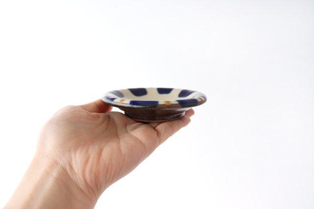 小皿 コバルトチチチャン 陶器 ノモ陶器製作所 やちむん 画像4