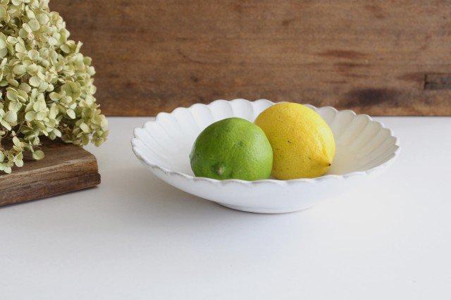 美濃焼 モチーフ サンフラワー 6寸鉢 陶器
