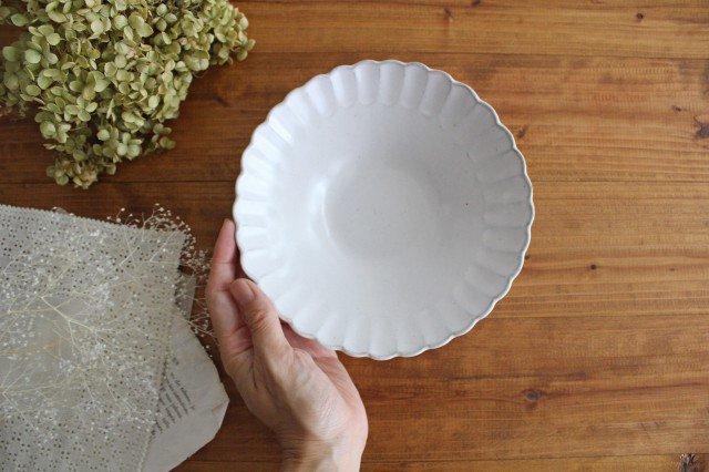 美濃焼 モチーフ サンフラワー 6寸鉢 陶器 画像2