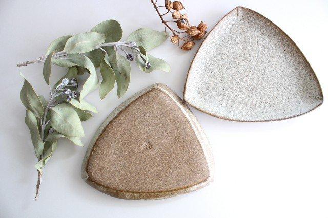 三角皿 白 陶器 宮崎和佳子 画像6