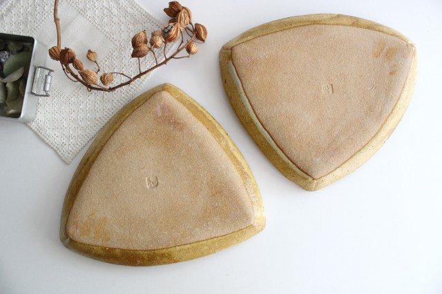 三角皿 青 陶器 宮崎和佳子 画像4