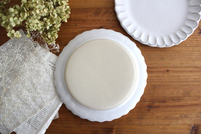 美濃焼 モチーフ サンフラワー 7寸皿 陶器 画像3