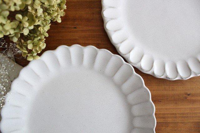 美濃焼 モチーフ サンフラワー 7寸皿 陶器 画像4