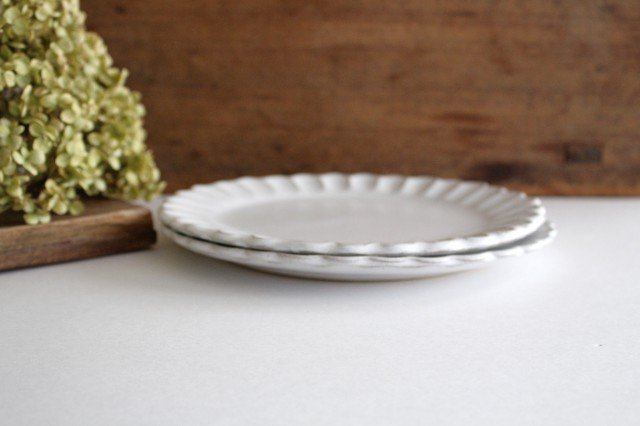 美濃焼 モチーフ サンフラワー 7寸皿 陶器 画像5