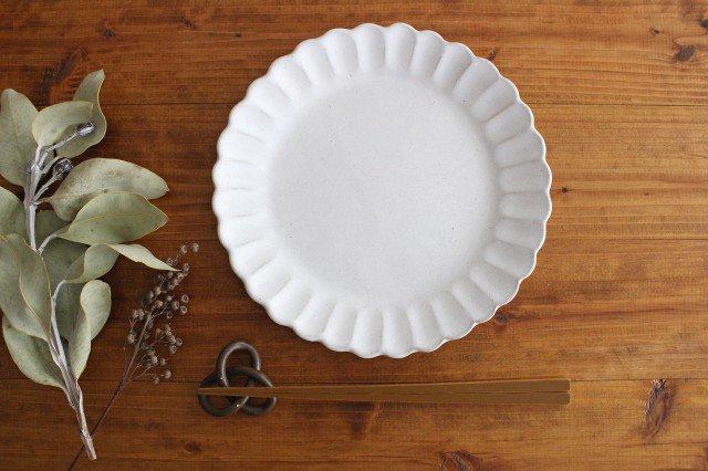 美濃焼 モチーフ サンフラワー 7寸皿 陶器 画像6