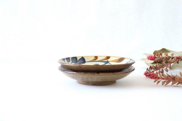 5寸皿 ゴス唐草 陶器 壷屋焼 陶眞窯 やちむん 画像3