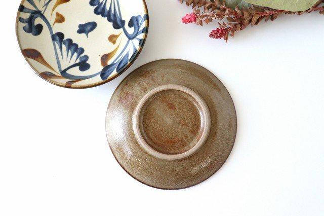 5寸皿 ゴス唐草 陶器 壷屋焼 陶眞窯 やちむん 画像6