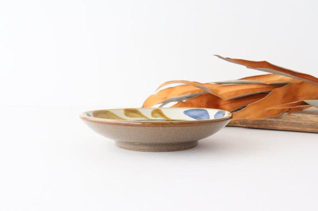5寸皿 デイゴ唐草 陶器 壷屋焼 陶眞窯 やちむん 画像2