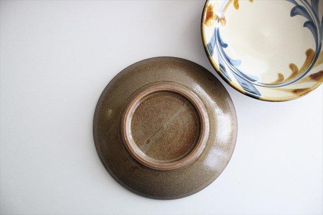 5寸皿 デイゴ唐草 陶器 壷屋焼 陶眞窯 やちむん 画像4
