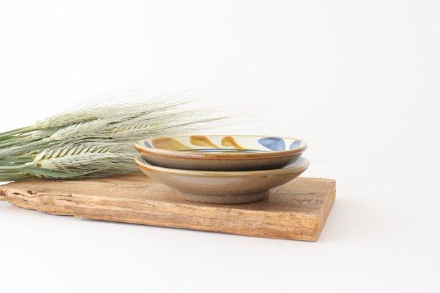 5寸皿 デイゴ唐草 陶器 壷屋焼 陶眞窯 やちむん 画像6