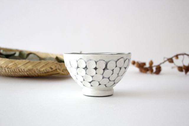 美濃焼 白玉粉引き 飯碗 陶器