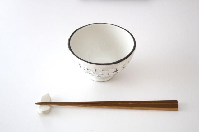 美濃焼 白玉粉引き 飯碗 陶器 画像2