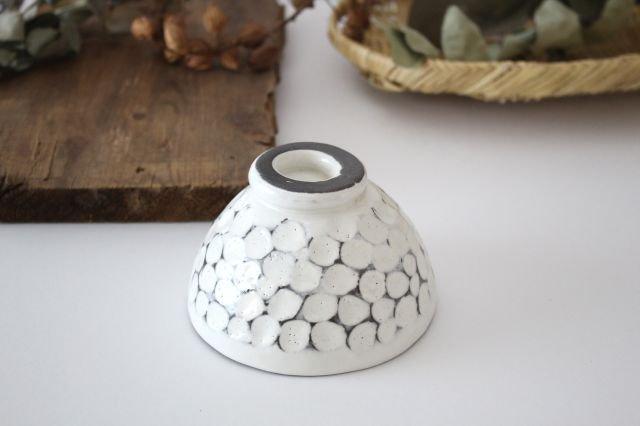 美濃焼 白玉粉引き 飯碗 陶器 画像3