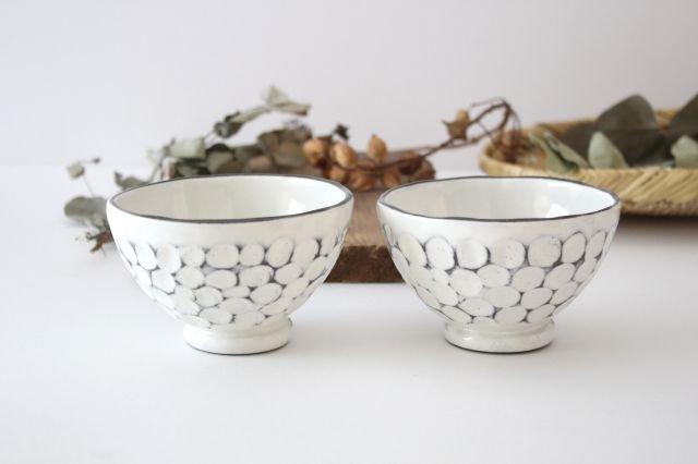 美濃焼 白玉粉引き 飯碗 陶器 画像4