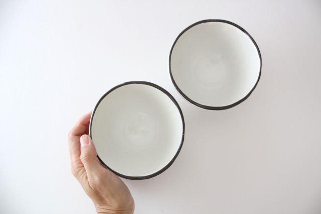 美濃焼 白玉粉引き 飯碗 陶器 画像5