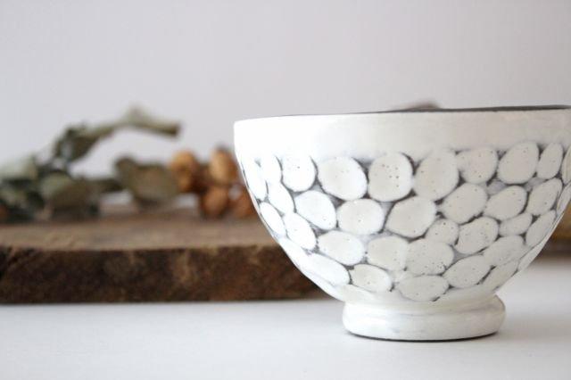 美濃焼 白玉粉引き 飯碗 陶器 画像6