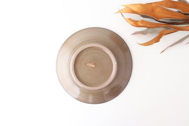 7寸皿 コバルト唐草 陶器 壷屋焼 陶眞窯 やちむん 画像4