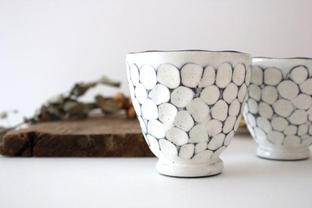 美濃焼 白玉粉引き 湯呑 陶器 画像4