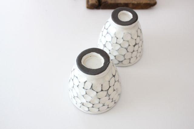 美濃焼 白玉粉引き 湯呑 陶器 画像6