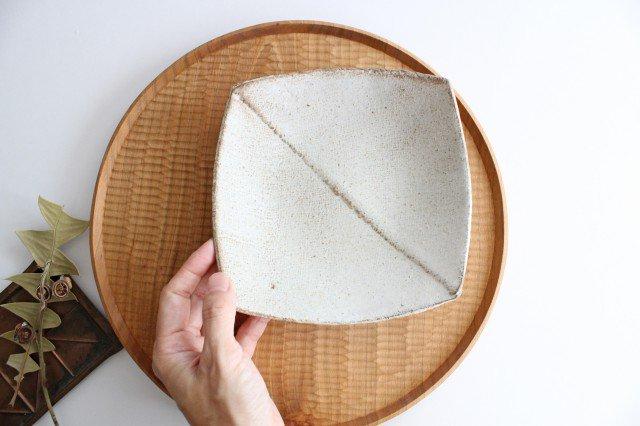 2枚はぎ四方皿 陶器 宮崎和佳子 画像3