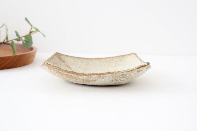 2枚はぎ四方皿 陶器 宮崎和佳子 画像6