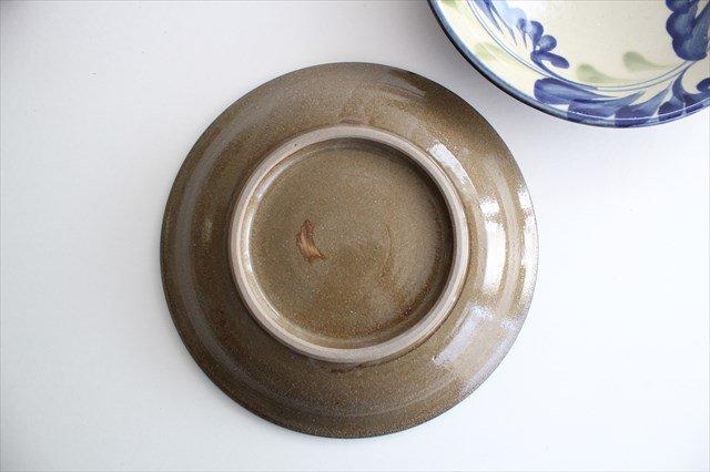 7寸皿 線引唐草 陶器 壷屋焼 陶眞窯 やちむん 画像6