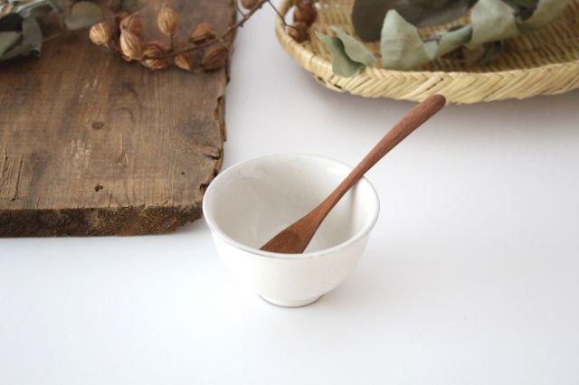 萬古焼 冠 湯呑 粉引き 陶器 画像2