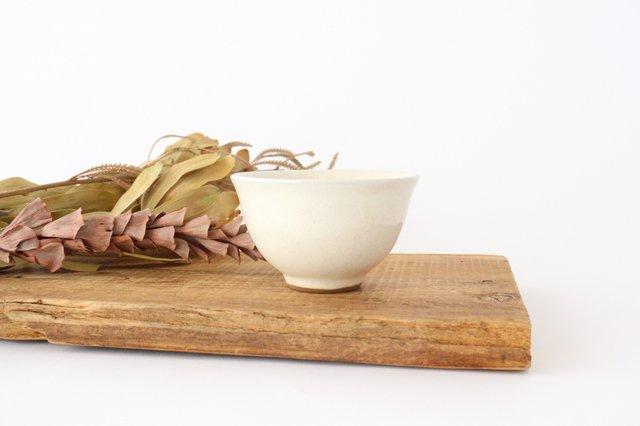 萬古焼 冠 湯呑 粉引き 陶器 画像6