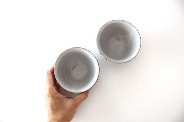 萬古焼 冠 湯呑 みかげ 陶器 画像5