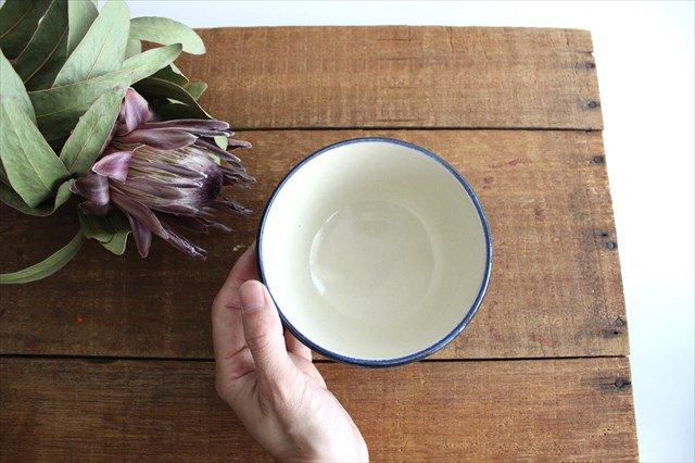 汁マカイ 赤絵ブーゲンビリア 陶器 壷屋焼 陶眞窯 やちむん 画像2