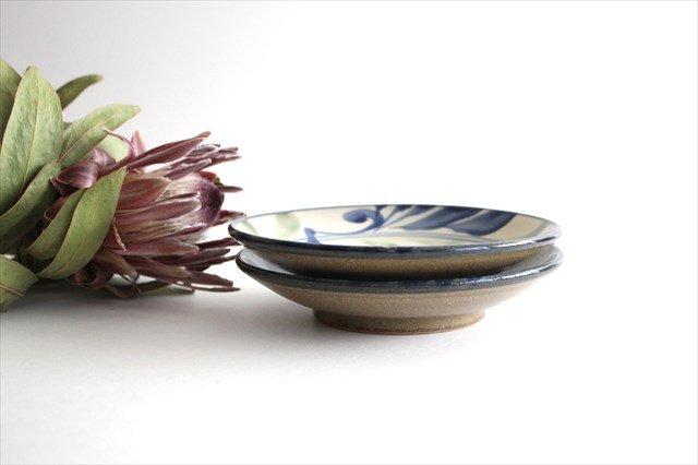 5寸皿 線引唐草 陶器 壷屋焼 陶眞窯 やちむん 画像2