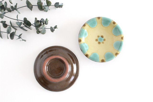 小皿 オーグスヤー 陶器 ノモ陶器製作所 やちむん 画像3